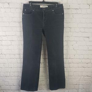 Faded Glory Petite Bootcut 4 Dark Blue Jeans